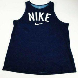 New Nike Tank Top Swoosh Dri-Fit Logo S Womens